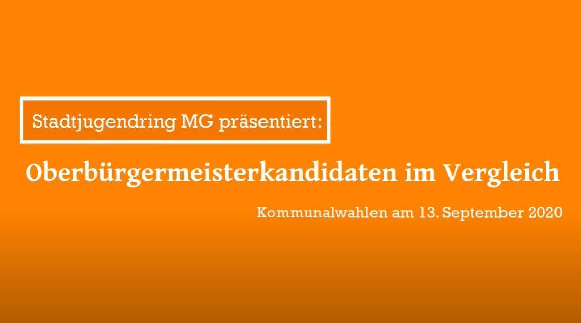 SJR MG X Oberbürgermeisterkandidaten MG